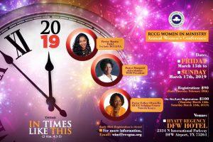 Women in Ministry Conference, USA @ The Hyatt Regency DFW Hotel