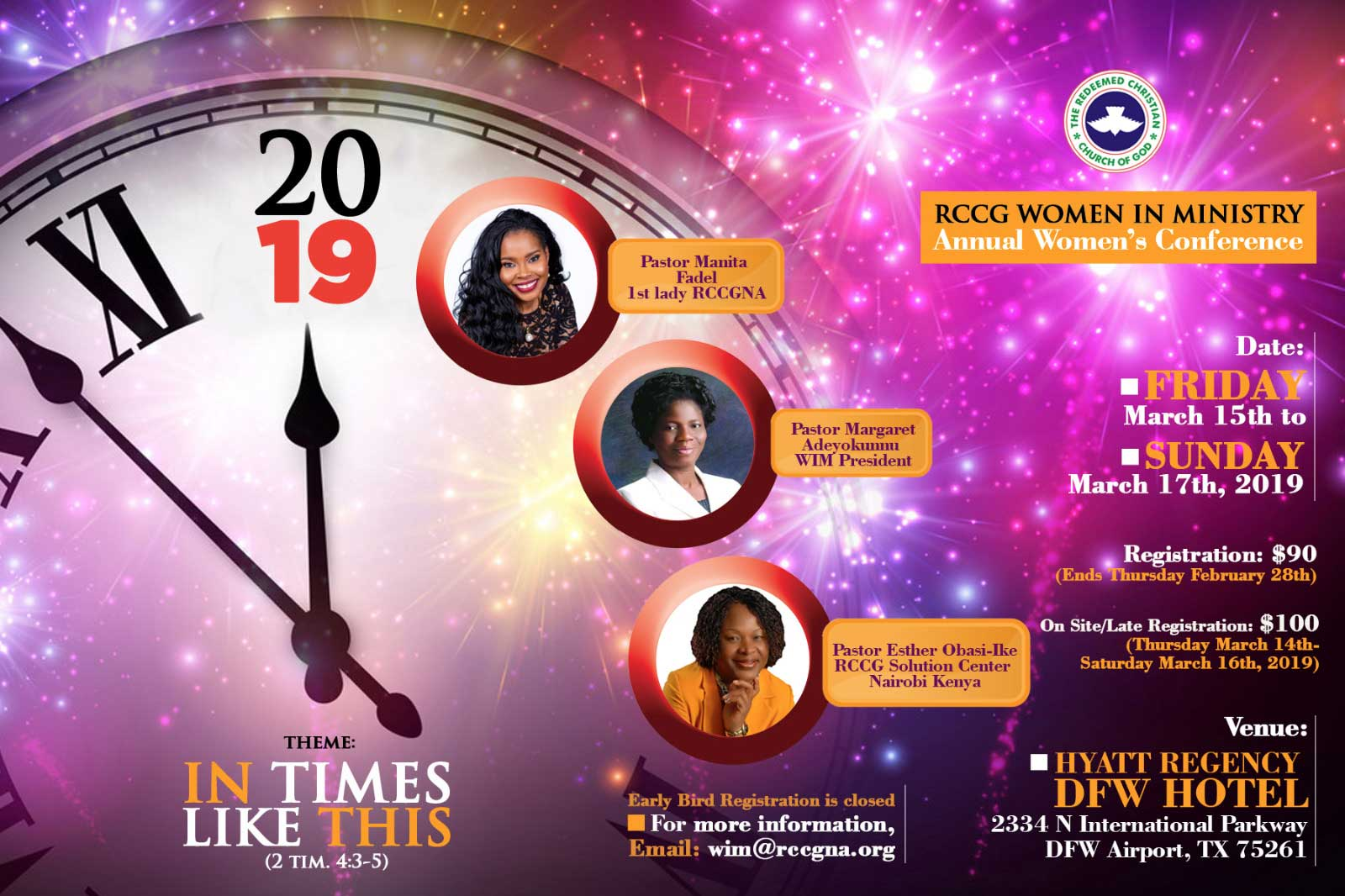 Women in Ministry Conference, USA