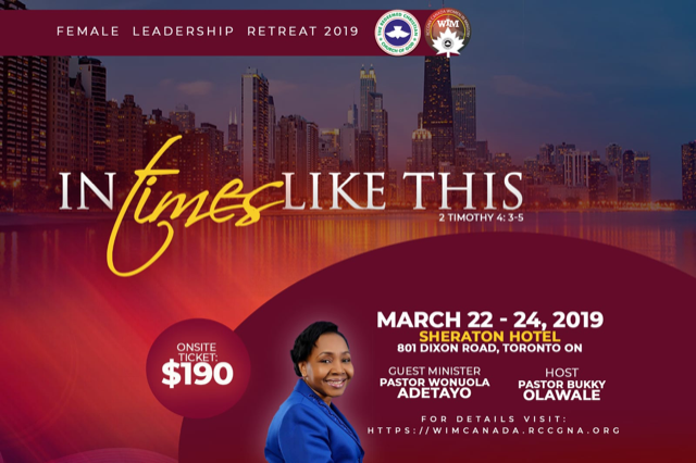 Women in Ministry Conference, Canada