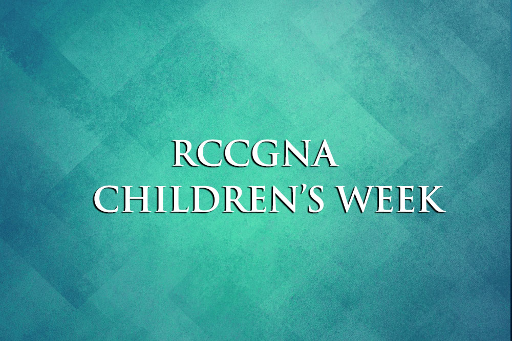 RCCGNA Children's Week