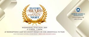 Pastor's Award and Connect Night