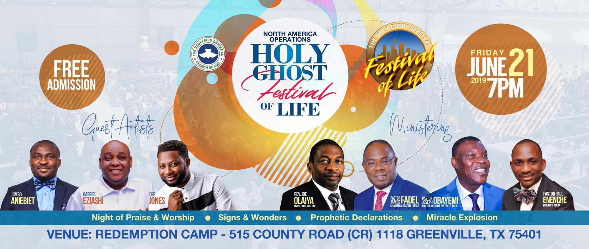 Holy Ghost Festival of Life