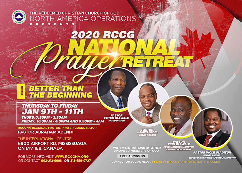 2020 RCCG National Prayer Retreat – Canada
