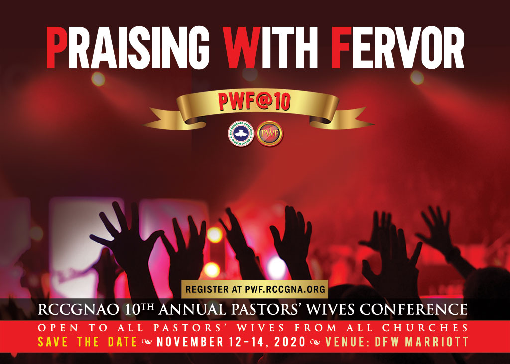 RCCGNA 10th Annual Pastors' Wives Conference