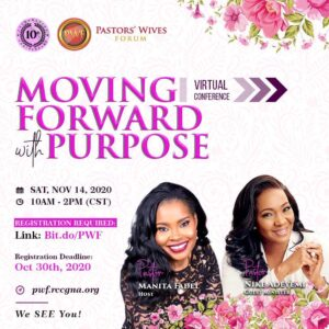 RCCGNA 10th Annual Pastors' Wives Conference @ DFW Marriott