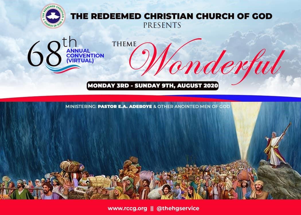 68th Annual Convention (Virtual)