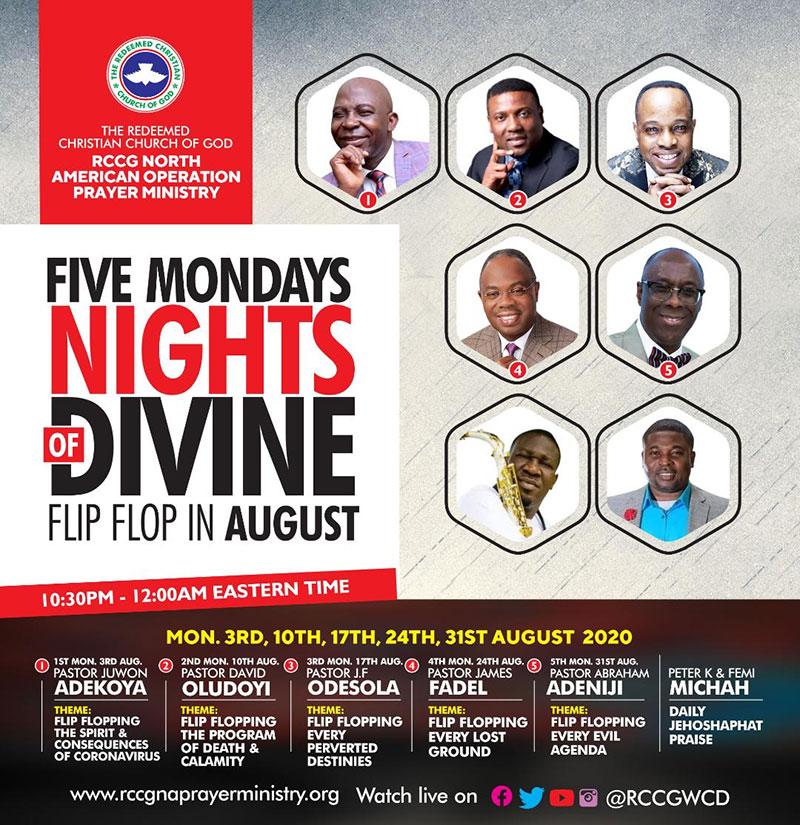 Five Mondays Nights of Divine