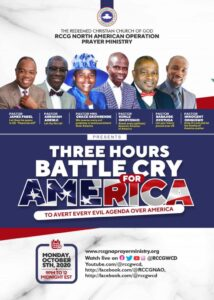 Three Hours Battle Cry for America