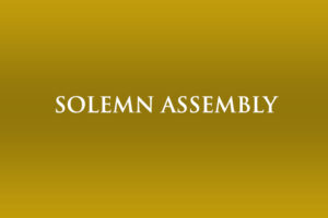 Solemn Assembly