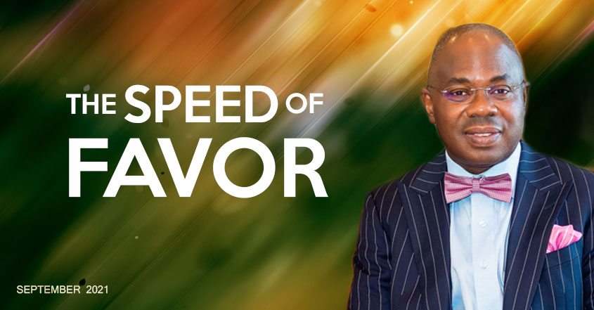 Read more about the article September 2021 – The Speed of Favor